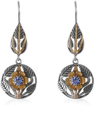 Emma Chapman Jewels - Beauty Blue Sapphire Diamond Earrings