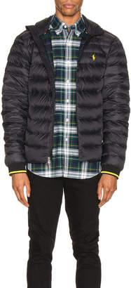 Polo Ralph Lauren Lightweight Packable Down Jacket in Polo Black | FWRD