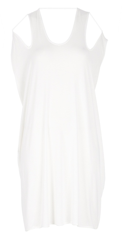 Dstm 'Split Shoulder' dress