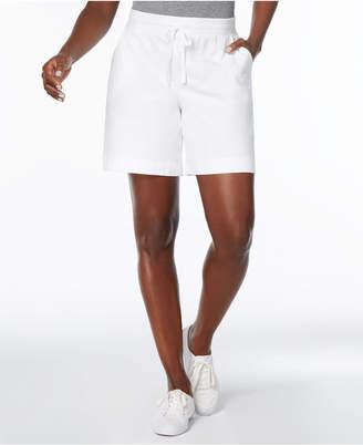 Karen Scott Pull-On Drawstring Shorts, Created for Macy's