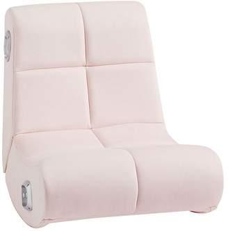 Pottery Barn Kids Mini Rocker Speaker Chair, Everyday Velvet Pale Blush