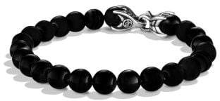 David Yurman Spiritual Beads Bracelet With Black Onyx, 8Mm