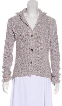 Loro Piana Knit Button-Up Cardigan