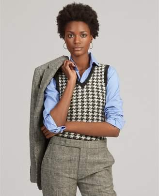 Ralph Lauren Wool-Blend Sweater Vest