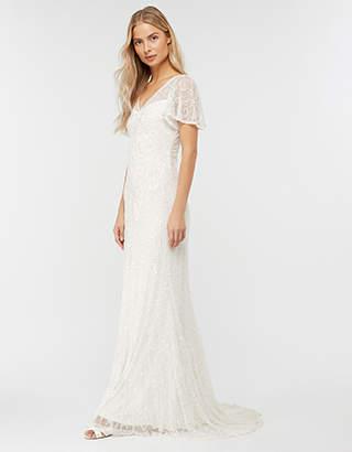 Helena Embellished Maxi Wedding Dress