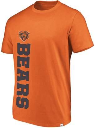 Majestic Men's Chicago Bears Flex Vertical Wordmark Tee