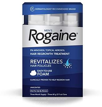 Rogaine Men's 5% Minoxidil Foam for Hair Loss and Hair Regrowth