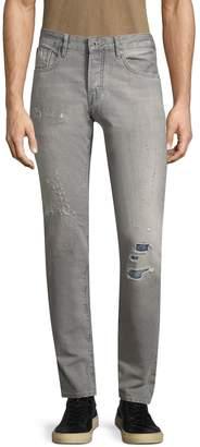Scotch & Soda Men's Ralston Straight Fit Cotton Jeans