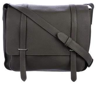 Hermes Clemence Steve 35 Messenger Bag