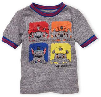 Nickelodeon Toddler Boys) Grey Paw Patrol Tee