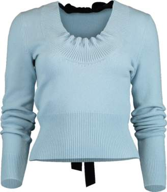 Alexander McQueen Bow Cashmere Sweater