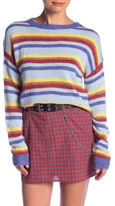 Emory Park Striped Sweater Top