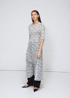 Delada Floral Apron Dress