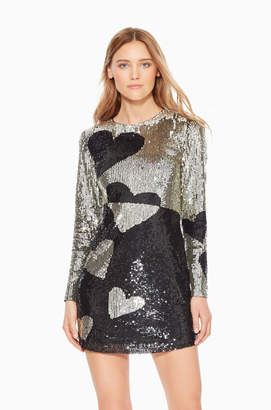 Parker Axel Sequined Heart Dress