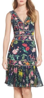 Women's Tadashi Shoji Olga Floral Dress $408 thestylecure.com