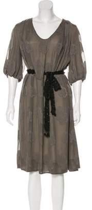 3.1 Phillip Lim Silk Jacquard Dress