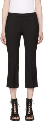 Neil Barrett Black Wool Flared Trousers