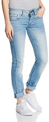 G-Star Raw Women's Midge Saddle Mid Rise Straight Leg Jean in Brantley Stretch $160 thestylecure.com