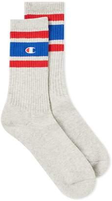 Champion Reverse Weave Colour Block Sock