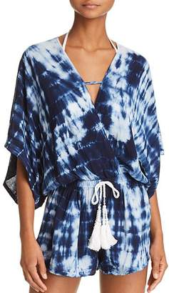 Surf Gypsy Tie-Dye Romper Swim Cover-Up