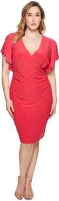 Lauren Ralph Lauren Plus Size Kahlo Matte Jersey Dress Women's Dress