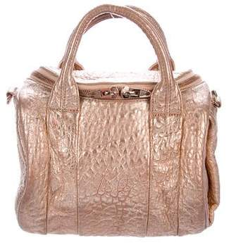 Alexander Wang Metallic Leather Rockie Duffel Bag