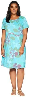 Fresh Produce Extra Fresh by Plus Size Fresh Blossom Sadie Dress Women's Dress