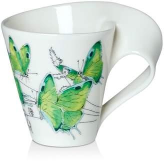 Villeroy & Boch New Wave Café Mug Noble Leafwing Butterfly