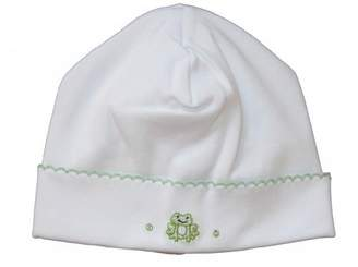 Kissy Kissy Baby Boys Homeward Bound Froggie Embroidered Hat