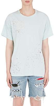 Amiri Men's Distressed Cotton Oversized T-Shirt
