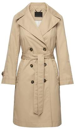 Banana Republic Water-Resistant Modern Trench Coat