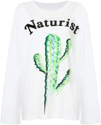 Ashish Naturist print sweatshirt