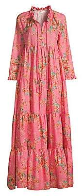 Eywasouls Malibu Women's Cora Floral Maxi Dress