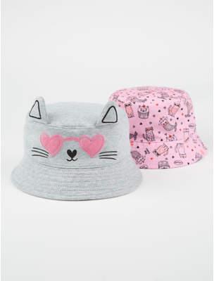 4a01cc8d536 CAT George Assorted Print Bucket Hats 2 Pack