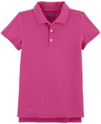 Osh Kosh Oshkosh Short Sleeve Knit Polo Shirt - Preschool Girls