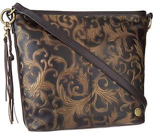 Nobrand NO BRAND Tignanello Vintage Leather Hobo ConvertibleCrossbody
