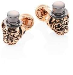 Saks Fifth Avenue COLLECTION Two-Tone Pug Head Cuff Links