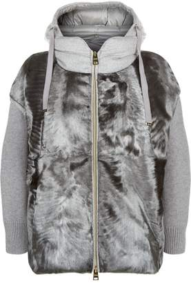 Herno Padded Fur Jacket