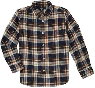 E-Land Kids Boys' Plaid Woven Shirt