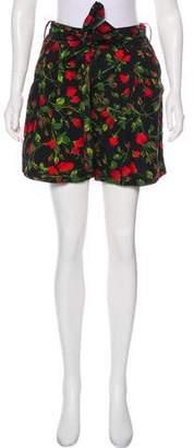 Dolce & Gabbana High-Rise Mini Shorts