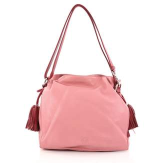 Loewe Pink Leather Handbag
