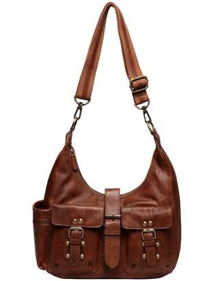 Vicenzo Leather Lori Leather Convertible Crossbody Bag
