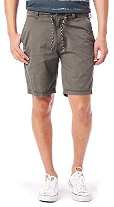 UNIONBAY Men's Stretch Fresh Twill Flat-Front Drawcord Chino Short