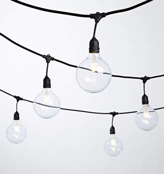 Rejuvenation 24 G40 LED Clear Bulb String Lights