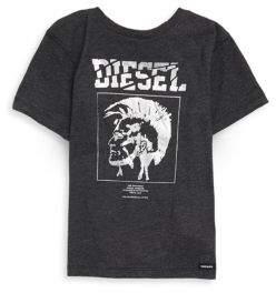 Diesel Toddler's, Little Boy's& Boy's Cotton Logo Tee