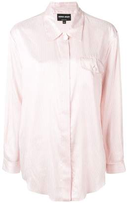 Giorgio Armani striped shirt