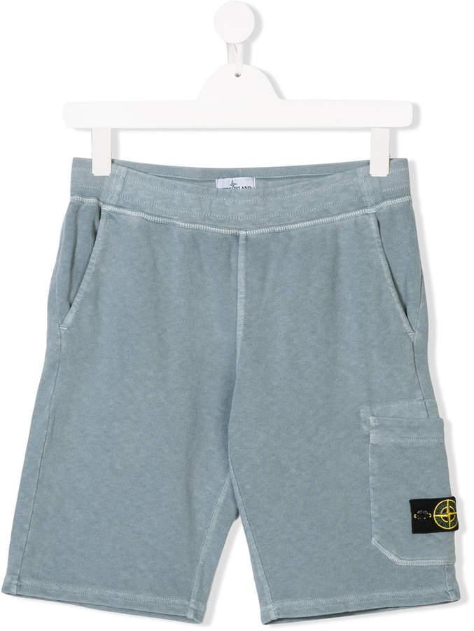 Stone Island Junior TEEN track shorts