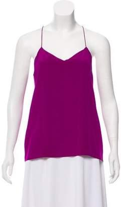 Tibi Sleeveless Silk Top