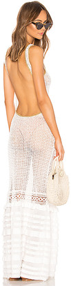 CHIO Crochet Maxi Dress
