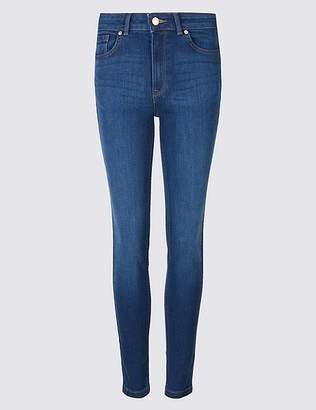 Marks and Spencer Ozone Mid Rise Skinny Leg Jeans
